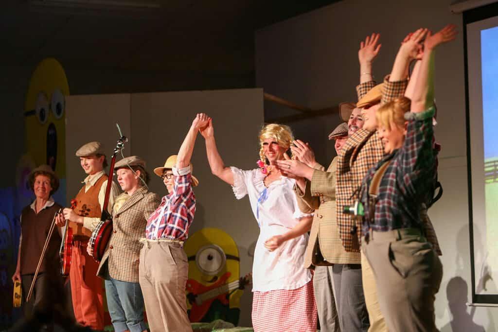 Preschool fundraising show - Combine Harvester (1)